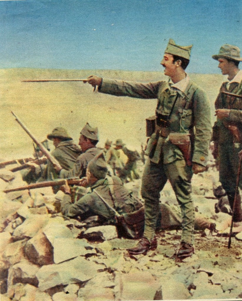 Franco liderando