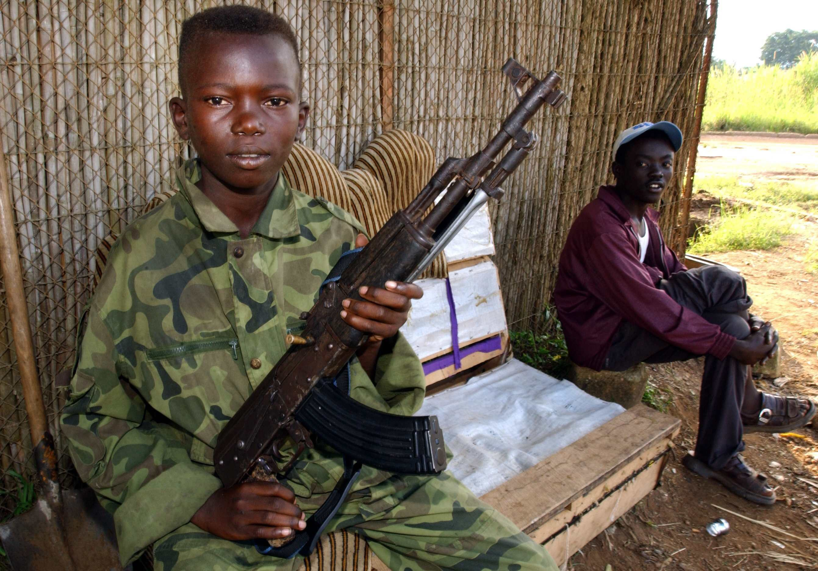 CONGO HEMA MILITIAMEN