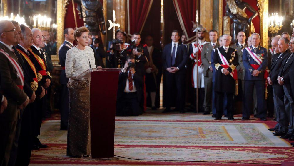 Felipe VI preside hoy la Pascua Militar con la presencia del Rey Juan Carlos